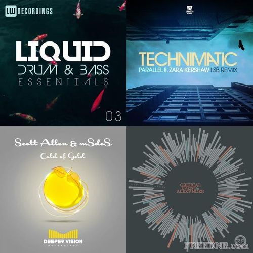 Download VA - Remix Rotation Liquid Drum & Bass April 2021 (01-04-2021) [94 Tracks] mp3